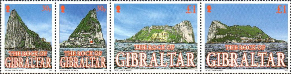 Views of the Rock of Gibraltar